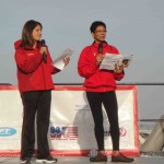 Event host from WUSA9 anchors Andrea Roane and Monika Samtani! — at National Harbor.