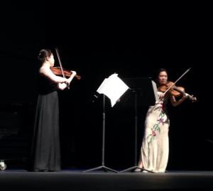 Violist Hsin-Yun Huang and Violinist Shu-Ting Yao