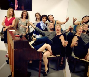Happily celebrating with our BalletNova family!